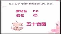 基础日语学习