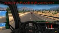 美国卡车模拟[第一期]疯狂飙车