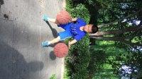 济南6岁小男孩的篮球