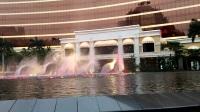 澳门永利的音乐喷泉