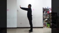 【正身图说】健身方法:出爪亮翅的动作姿势