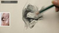 手绘油画学素描视频_水墨画入门_素描入门第一课素描画