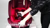 babytrend旅行者B6兒童安全座椅肩帶的松緊調節