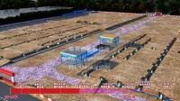 京东商城 仓储工业厂房 施工动画演示 深基坑钢结构施工动画演示 超清