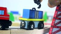 小卡车玩具新玩法,增加儿童的智力发展