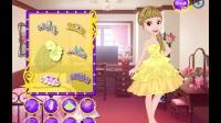 趣味小游戏--小公主苏菲亚---苏菲亚和安伯的下午茶装扮