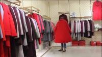毛呢大衣冬款视频品牌女装尾货折扣库存走份批发微信拿货18578653207