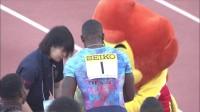 2017川崎100米:加特林10.28夺冠、苏炳添10.43第5