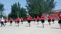 【土豆网】吴桥县第六屯村娱乐健身广场舞《爱郎的心》