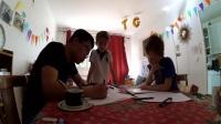 Tom和Grégoire上中文课