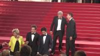 现场:全娱乐直击70届戛纳国际电影节红毯 达斯汀·霍夫曼现身引爆全场