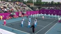 赵天纬参加天成·金域华里杯2017国际网球金安公开赛(气舞·太极)表演
