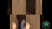 王珞丹海边玩水美脚抢镜,网友:第一张图是要逼死强迫症啊!