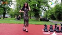 参加聚会穿上这件华丽黑色蕾丝裙_让你瞬间提升高贵气质_mda-hemy9z5n4u5a9jw4