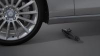 如何安装备用车轮