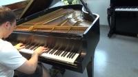 80年代二手三角钢琴纽约产STEINWAY施坦威m170原始状态