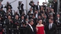 全娱乐直击70届戛纳国际电影节红毯 范冰冰红裙露香肩成焦点 170525