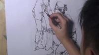 人物头像素描教学 动漫素描教程 素描自学