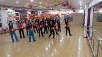 东城国际舞蹈队演练腰鼓爱我中华V70525-200432