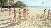 日本美女沙滩上热舞! 跳来跳去真迷人!.mp4_高清