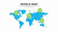 商业国家地图天气时间表信息数据图标视频演示文稿设计AE模板 Infographics Mega Bundle v2