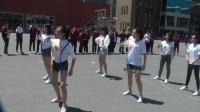 赛前啦啦队热舞