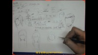 【合尚教育】手绘漫画插画零基础公开课-头发的技巧
