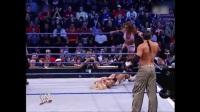 WWE经典男女双打混战,麦特哈迪打不过出卖女搭