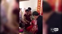 女儿出嫁结婚了, 父亲含泪抱着女儿出门, 莫名的感动!