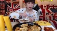 【韩国主播-花猪】韩国泡菜+锅包肉吃播20170525