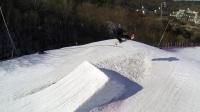 挑战极限滑雪滑雪跳跃高山滑雪户外滑雪滑雪竞技比赛