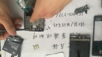 小米4拆机图解视频教程更换内外屏带框屏幕总成电池后盖尾插排线开机排线听筒