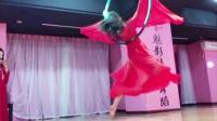 《凉凉》 最美最仙唯美钢管舞、吊环舞空中舞蹈演绎视频教学 常州六月风空中舞蹈
