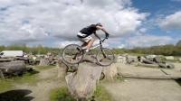 障碍单车Alexis Brunetaud au IORE Bike Trial Park à la roche sur yon