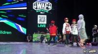 中国Battle Guest(w) vs World Children-半决赛-Freestyle4v4-WAF7国际少儿街舞大赛