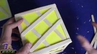用冰棒棍打造的精美工艺灯!