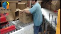 封切热收缩包装折盖封箱打包流水线
