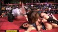 WWE 女选手败北集锦之La Rosa Neegra