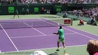 费德勒VS德尔波特罗 低机位 Miami Open 2017 R3
