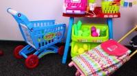 宝贝娃娃去购物超市玩具