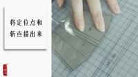 笑雕堂DIY手工皮具制作材料包蓝色长夹制作教程