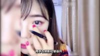 最简单的化妆方法兼具甜美、性感的粉色桃花眼妆教程