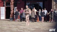 UFN110主赛选手走进毛利族战士