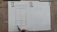 美芬素描_水彩笔_室内设计速写_古典素描_怎样学素描