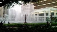 澳门永利娱乐城外音乐喷泉