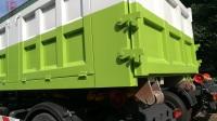 东风天龙钩臂式垃圾车一台多少钱天龙钩臂式垃圾车价格13469713333