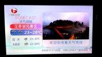 安徽卫视旅游景区天气预报(20170608,不完整)
