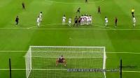 【滚球国际足球频道】梅西 10超大弧线进球 只有梅西可以扭弯它 !!