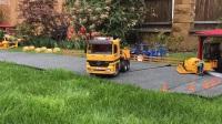 玩具垃圾车碰撞-回收行动!