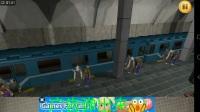 手机游戏地铁司机加速片段